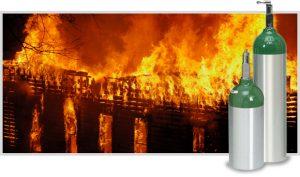 Rappel de mise en garde sur les supports et bonbonnes d'oxygène