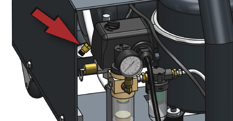Unplug your compressor at the end of the day