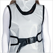 Frontal Protection Apron with Integrated Thyroid Collar