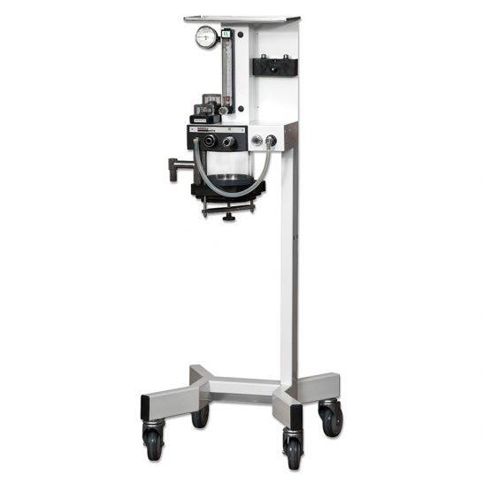 White Moduflex Coaxial Anesthesia Machine