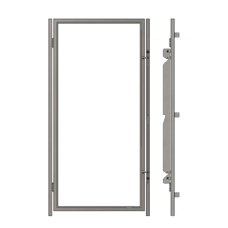 Gl Kennel Doors Without Top And Bottom Frame