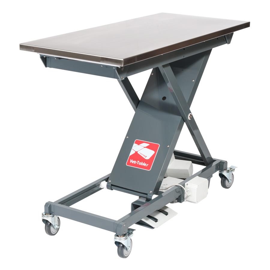 Vet-Tables Scissor Exam Table With Exam Top
