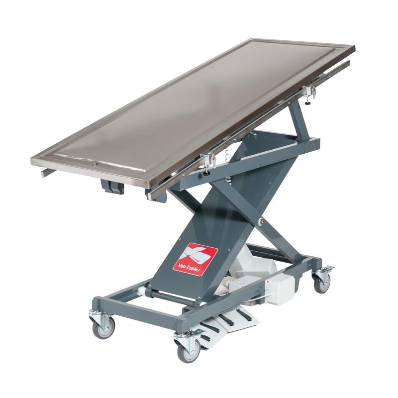Table à ciseau Vet-Table avec plateau de chirurgie inclinable
