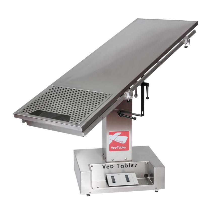 Table de dentisterie à colonne électrique Vet-Tables