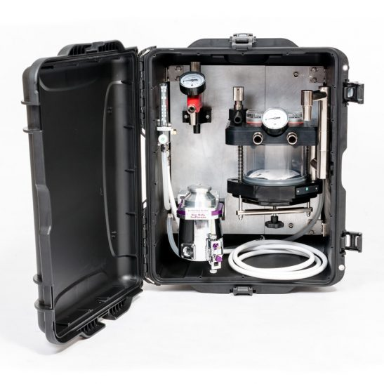 Appareil d'anesthésie vétérinaire Moduflex Compact pour service sur le terrain