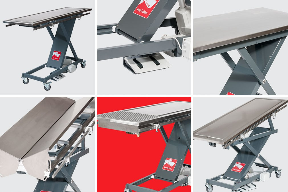 Vet-tables Electric Elevator Table