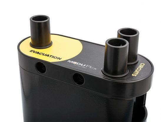 Moduflex scavenger interface for fan or blower assemblies