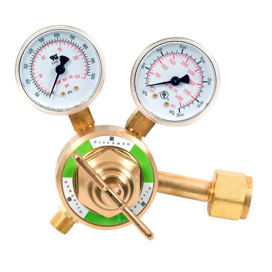 Brass High-Flow Regulator