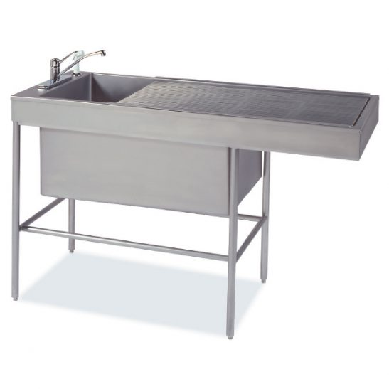 Classic 6/18 Multi-Depth Recessed-End Prep-Procedure Table