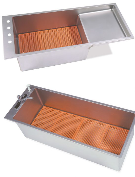 Coated Removable Bathing Rack