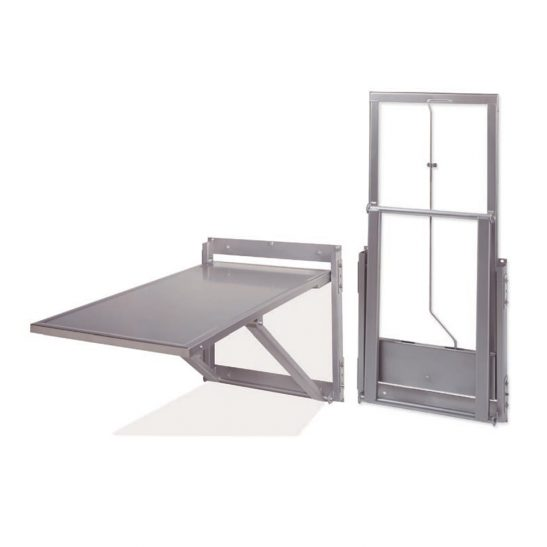 Folding Wall-Mount Exam Table