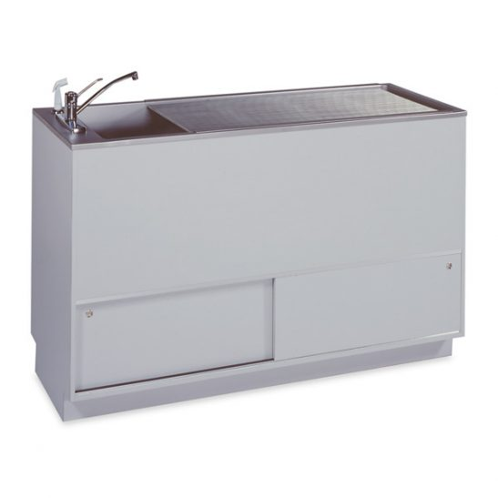 Imperial 18 Single-Depth Tub Prep-Procedure Tables (Faucet sold separately)