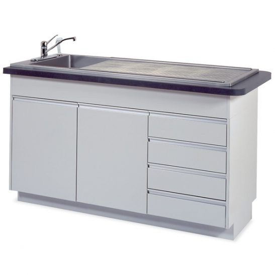 Imperial 6 Prep-Procedure Table (Faucet sold separately)