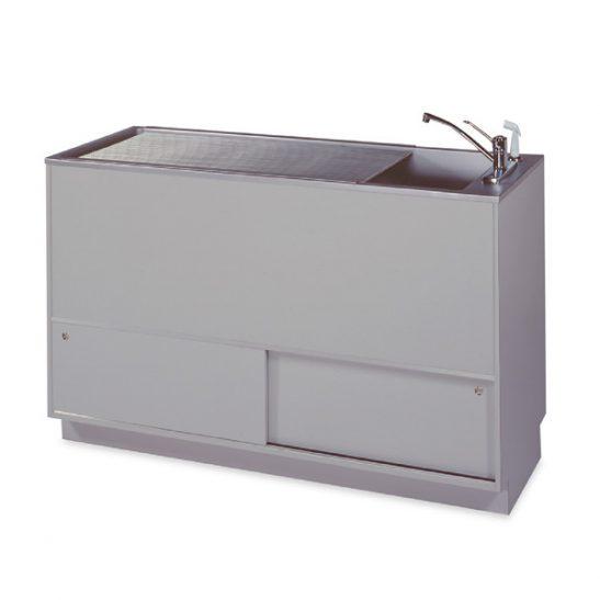 Regal 18 Single-Depth Tub Prep-Procedure Tables (Faucet sold separately)