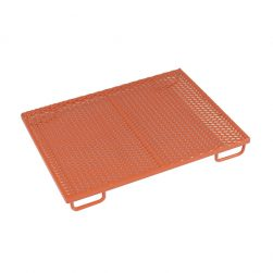 Plastisol-Coated Removable Cage Floors