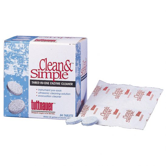Clean & Simple cleaning tablets
