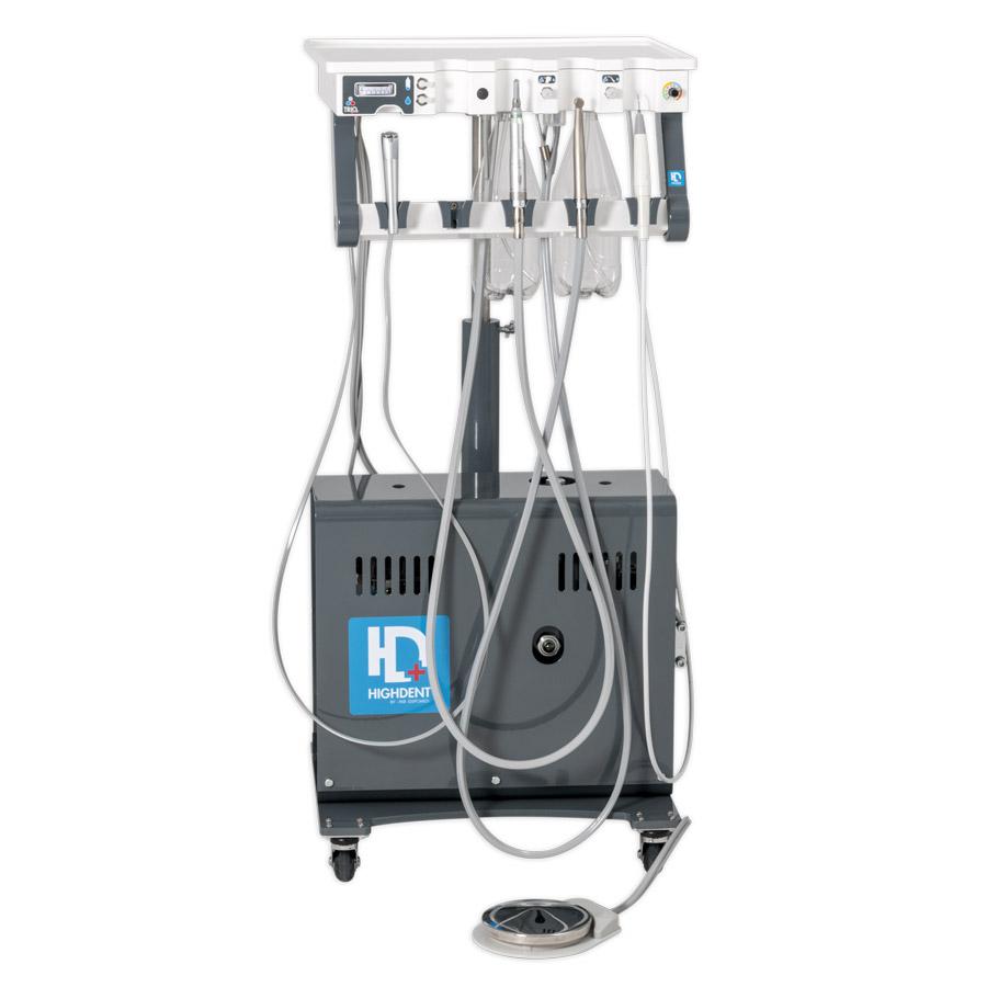 L'appareil de dentisterie vétérinaire Highdent Trio PLUS