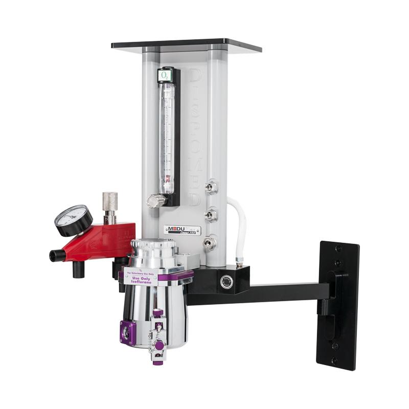 Wall-mount Moduflex NRB with Moduflex Bain and vaporizer