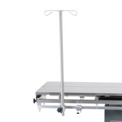 I.V. pole for Vet-Tables Electric and scissor tables