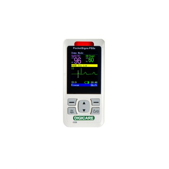 Digicare PocketSigns PS8xV S SpO2 Monitor