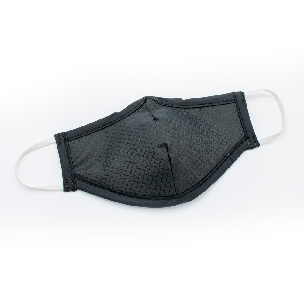 Metallic Black Washable Protective Mask