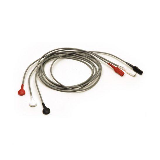 ECG 3 câbles - Snap In